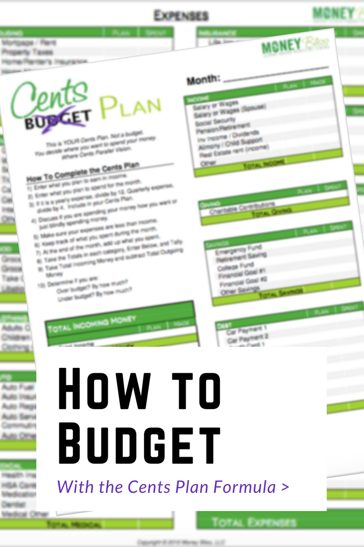 How To Write A Check With Hundreds And Cents Cents Plan Not A Budget Money  Bliss