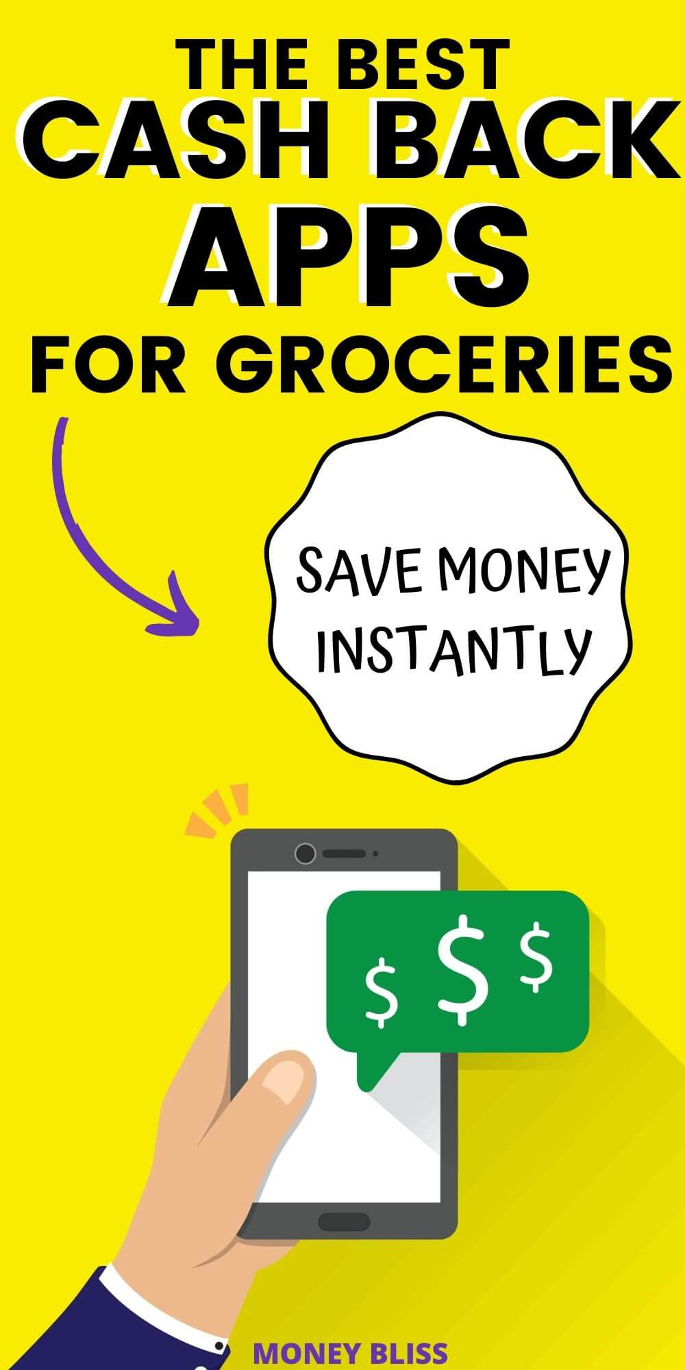 What app gives best cash back? Find out with my review of Ibotta, Fetch Rewards, and Checkout 51. Learn how do rebate apps works. These are the best grocery store cash back apps. Make money fast with these cash back apps for groceries.