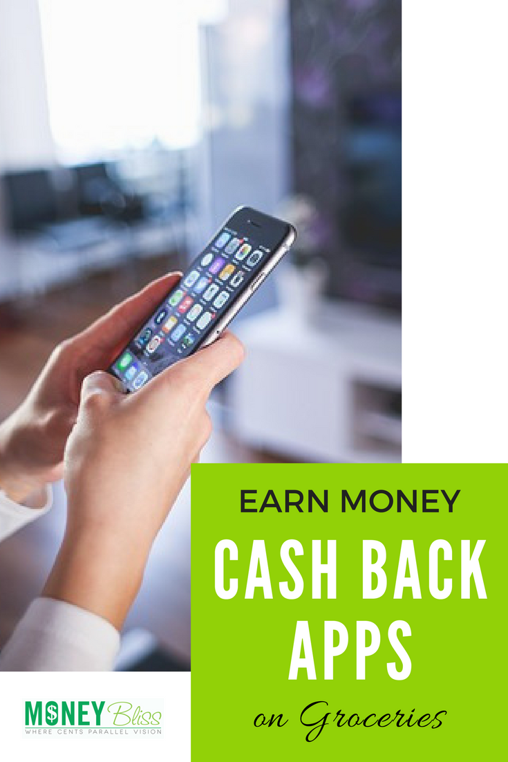 Earn Money with Cash Back Apps for groceries. These are my personal favorite apps - Grocery Cash Back App Review and Opinion. Best grocery rebate apps. Save money on groceries. #grocerybudget #apps #frugal #moneysavingtips