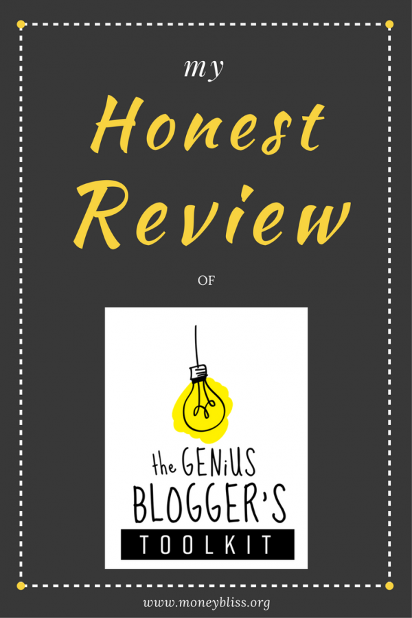 Review Genius Blogger's Toolkit 2016. Blogging tips. Business tips. Courses. How to create a blog. eCourses. eBooks.