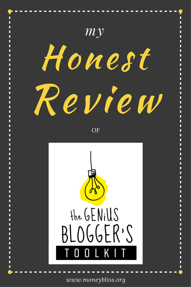My Review Genius Blogger's Toolkit. Is it worth the cost? Get blogging tips, business tips with ebooks, printables, and courses. Learn how to create a blog or advance your blog further. Hopefully, my insights to the Genius Blogger's Toolkit review will help you make your decision. #blogging #makemoney #sidehustle #geniusblogger