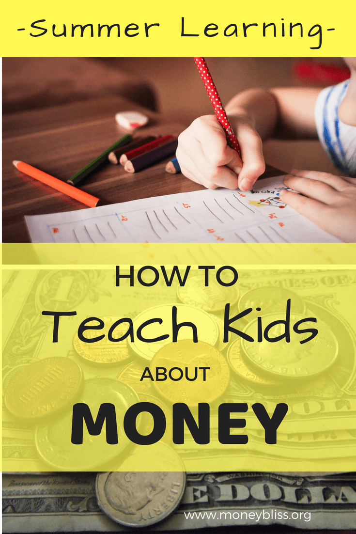 Teaching kids about money is invaluable. These life lessons can be taught over the summer. How to teach kids about money over the summer. Money management activities. Ideas to teach children about money. Tips for kids and parents. Summer Fun Money Envelope. #kids #money #learning #summer #activities #free #homeschooling