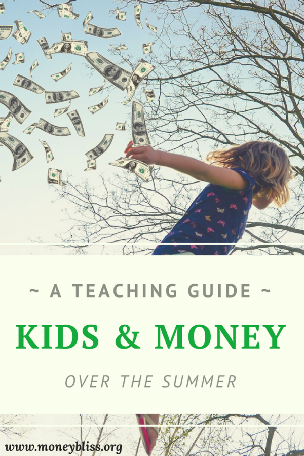 How to teach kids about money over the summer. Money management activities. Ideas to teach children about money. Tips for kids and parents. Summer Fun Money. Envelope