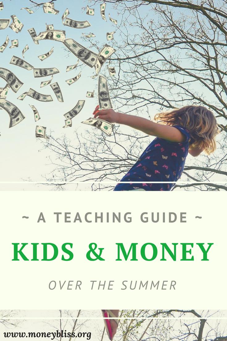 How to teach kids about money over the summer. Money management activities. Ideas to teach children about money. Tips for kids and parents. #kids #teach #money #homeschooling #activities