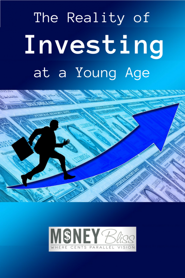 The reality of investing at a young age. Financial advice for millennials, young adults, or those in their 20s. Money guidance. Stay out of debt. Investment.
