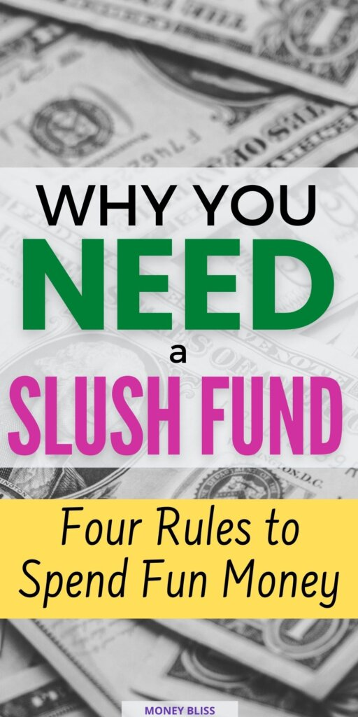 If you want fun spending and freedom in your budget, then learn how to create a slush fund account. This is a perfect compliment to help reach money goals.