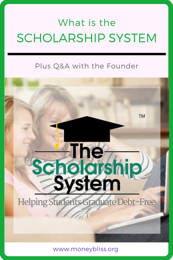 What is the Scholarship System? My review. Yes, the Scholarship System is legit and has saved families thousands of dollars. No Student Loan Debt Here.