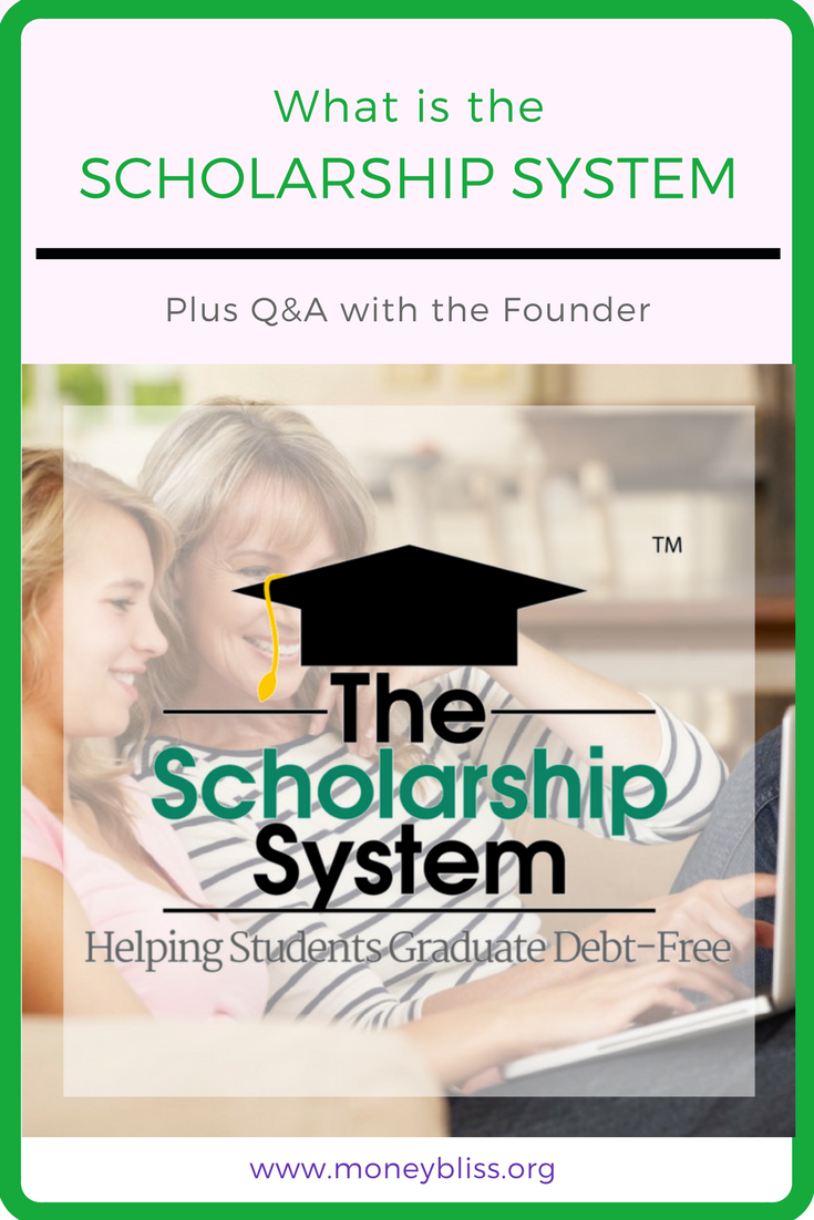 What is the Scholarship System? My review. Yes, the Scholarship System is legit and has saved families thousands of dollars. No Student Loan Debt Here. Learn how to stay debt free. Best present for any kids. #debtfree #college #scholarship