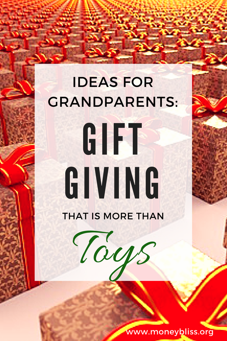 Unique gift ideas for grandkids. Gift Giving that is more than toys. Ideas for grandkids. Present ideas from grandparents.