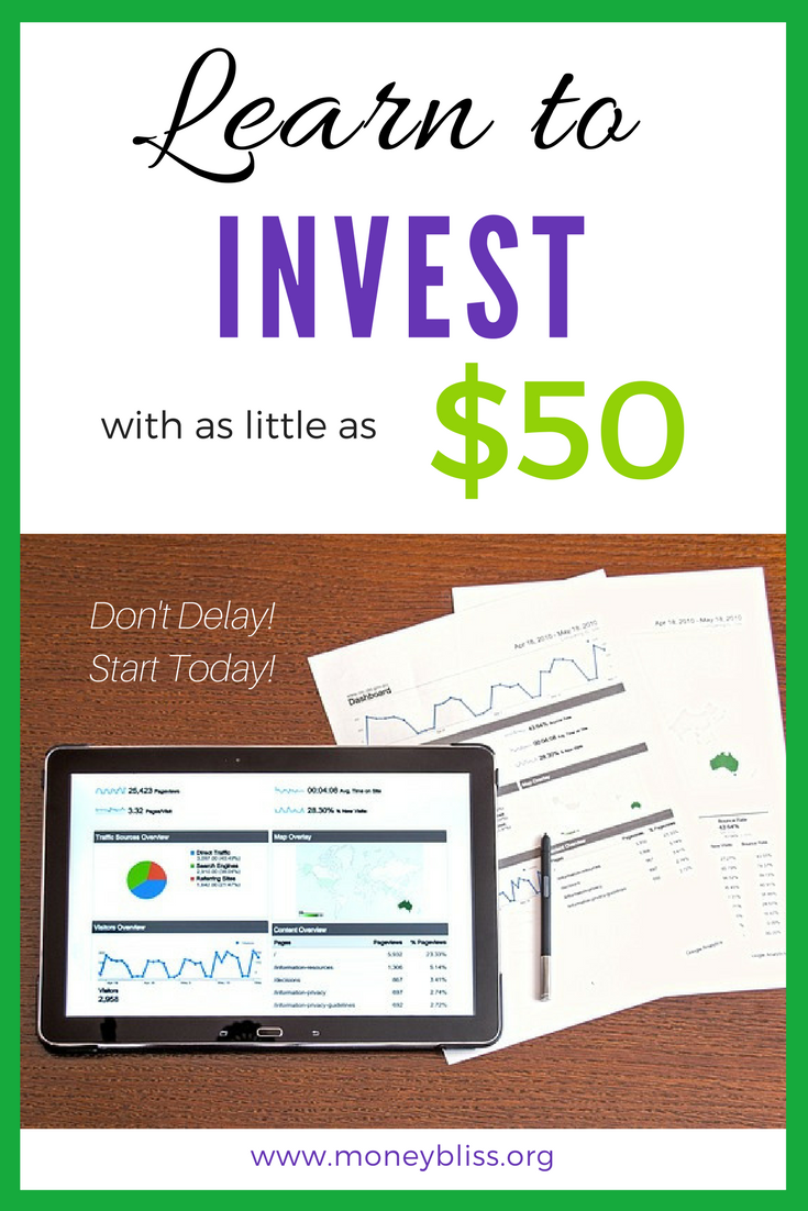 How to start investing. Investing for beginners. Understand the stock market. Make passive income. Basic investing tips. How to Invest in the Stock Market with little money. Learn to invest with as little as $50.