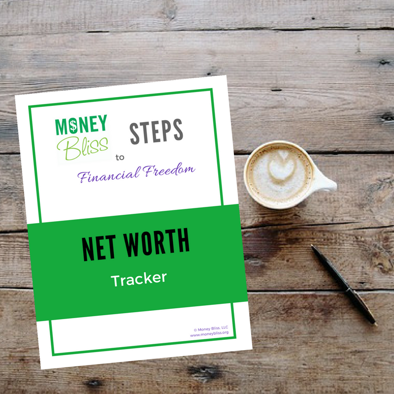 Net Worth Guide. Track your net worth overtime. Why is tracking net worth important? Even if net worth is negative, it is important and will be a motivator. Net worth graph.