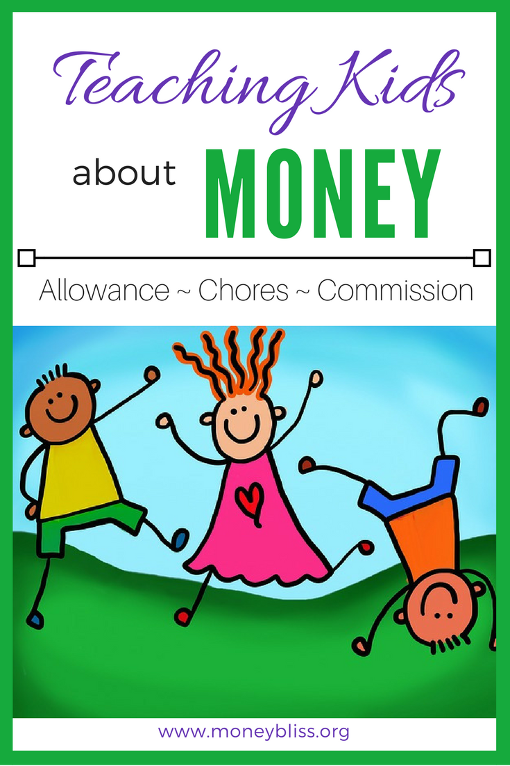Insider Guide to Allowances, Chores, Commissions for kids. The necessary tools to teach kids lifetime money lessons. Understand the difference between chores and allowance. Also, the difference of allowance vs commissions. Teach kids about money. Printable allowance Chore Chart. Chores for money ideas. Teach kids money lessons with allowances, chores, commissions