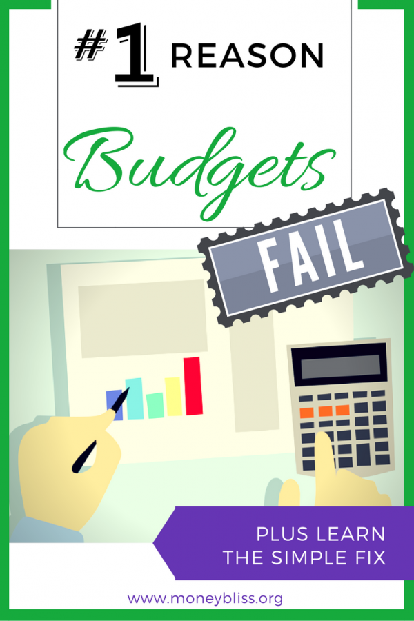 How to stay motivated when my budget is failing? Why do budgets fail? Understand personal finance. Learn how to get my budget to stick. Overcome why budgeting is hard. Stop living paycheck to paycheck. Budgeting monthly. How to budget bi-weekly or weekly? Learn the reason budgets fail.