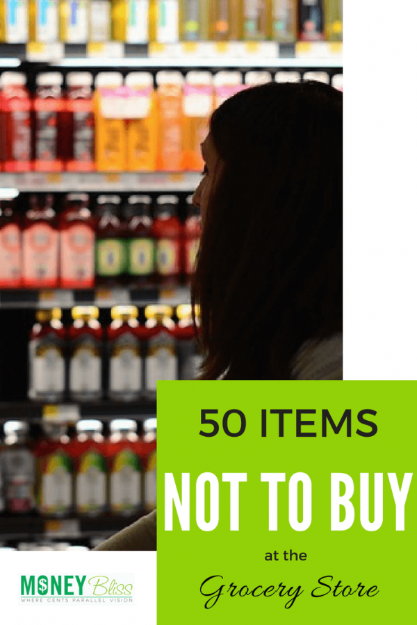 Items not to buy at the grocery store. What to buy at the grocery store on a budget. Food to buy at the grocery store. Grocery shopping on a budget. Healthy grocery shopping on a budget. What food to avoid buying at the grocery store. #groceries #mealprep #budget #shopping