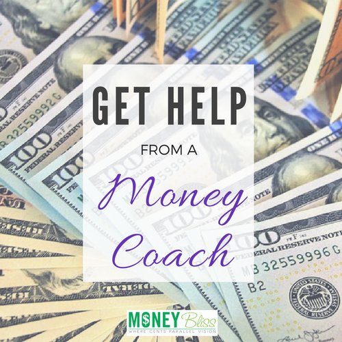 Hire a Money Coach. By getting help from a money coach, you are able to reach your visions faster. Find financial freedom. Get our of debt. Save more money. Find that place where cents parallel vision. Get help with your personal finance situation.