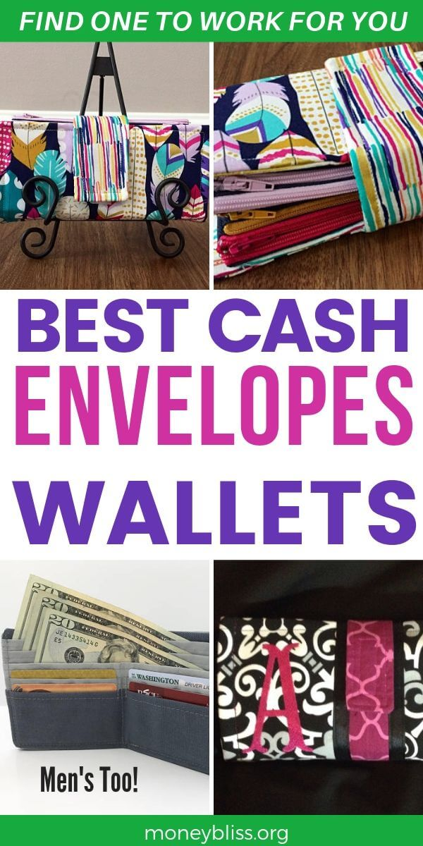 Find a cash envelope system wallet that works for you. Understand how to use a cash envelope binder. How to make a cash envelope system wallet. Use the envelope system for budgeting. Organize your money with an envelope system. - MoneyBliss #cashenvelope #budgeting #fashion #wallet #moneybliss