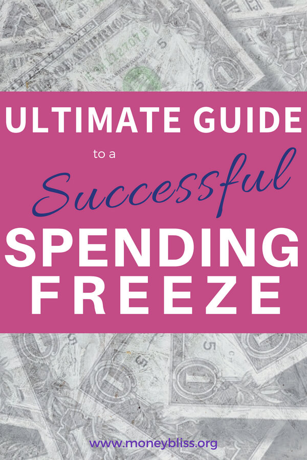 Ready for a spending freeze? Need to know the spending freeze rules and tips to succeed. Learn all the spending freeze benefits. This frugal living idea will jumpstart your emergency fund or pay off debt.