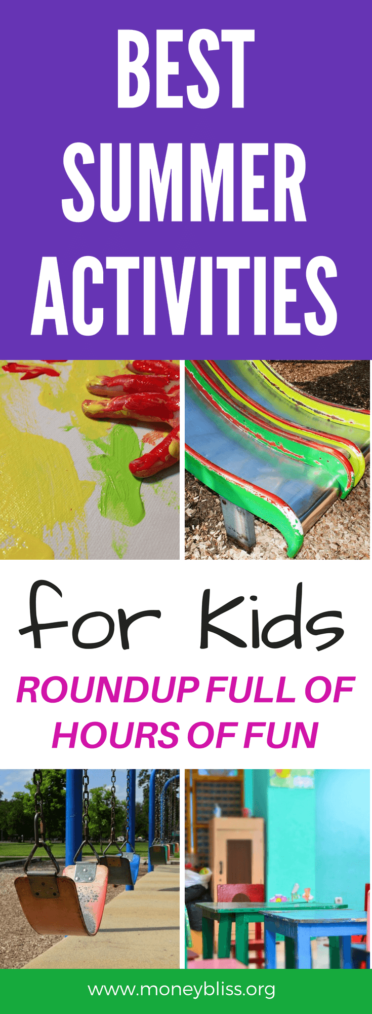 Be prepared for summer and bored kids. With this roundup, you will find plenty of activities to do in summer vacation. Find free activities for kids. Create memories with these summer activities for kids. #summer #activities #kids #roundup #free