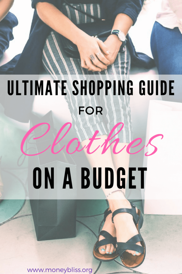How to shop for clothes on a budget. Ultimate guide to saving money. How to dress well without spending a lot of money. Beyond thrift stores, where is the best place to find outfits? Learn how to save money on your fashionable frugal style. #Fashion #savemoney #frugal #cheap #moneysavingtips