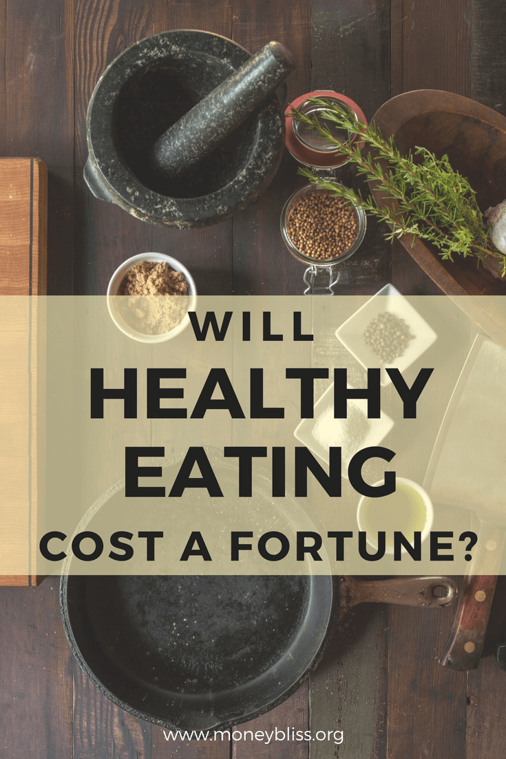 Healthy eating on a budget. Is that possible? Learn how to eat healthy while on a budget. Understand the cost of healthy eating when grocery shopping. It is possible to eat healthy food for just $1.61 per day per person. #eathealthy #grocerybudget #mealplan #healthyfood #eatinghealthy #groceries #budget