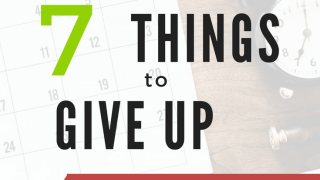 7 Things to Give UP to Pay Off Debt Faster