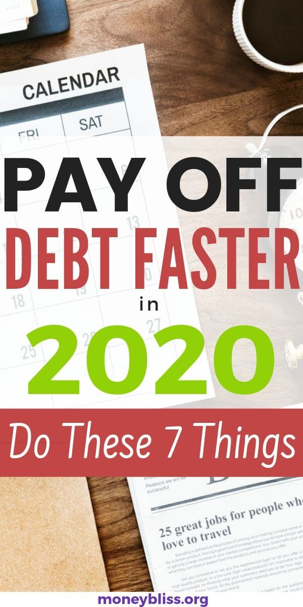 Ready to pay off debt faster in 2020? Find the simple tips to paying off debt quickly. You can still pay off your debt when you're broke or on one income.