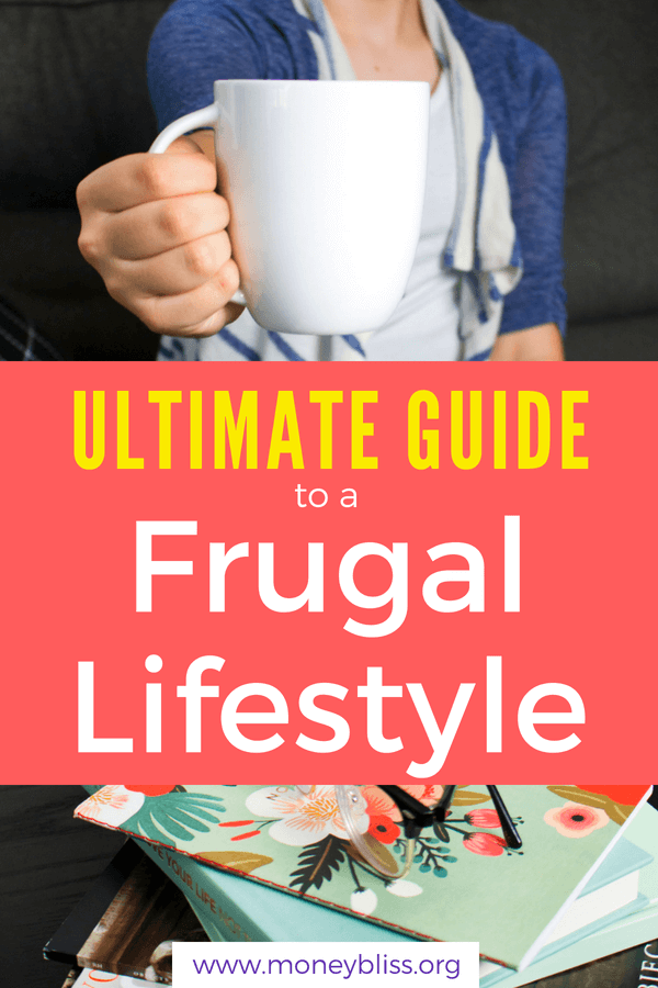 Simple living with a frugal lifestyle. With this ultimate guide to frugal living, you will understand the frugal lifestyle benefits, get frugal living ideas, plus how to make a frugal lifestyle for families. Get all your beginner tips on how to make a frugal lifestyle here. #frugal #lifestyle #savemoney #tips #howto #money #financialfreedom #minimalism