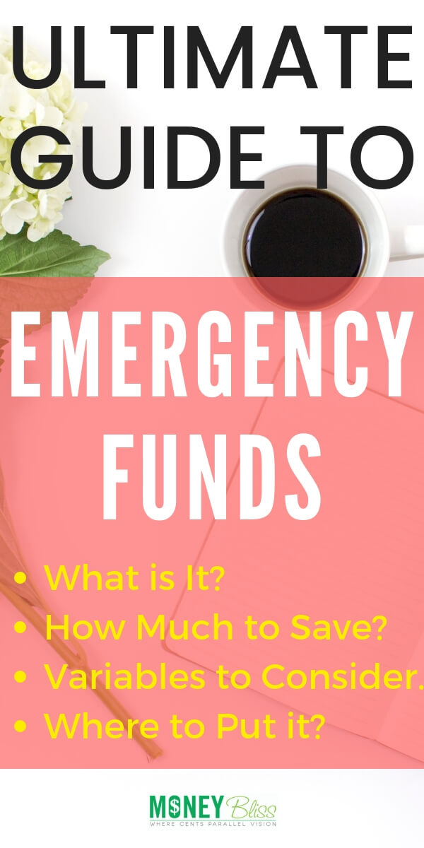 Emergency funds are the first step to financial freedom. Find basic guidance, recommended emergency fund amount plus variables to consider. Dave Ramsey basic guideline isn't enough in today's society. Building your savings plan. #savemoney #money #personalfinance #financialfreedom