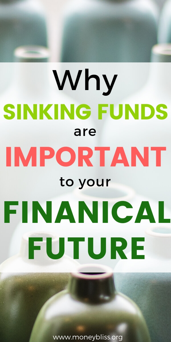 Living on a budget with sinking funds is so much easier. Get a full list of possible sinking fund categories. How to organize your budget categories and find budgeting ideas. Simple tips for beginners to reach financial freedom. #budget #money #moneybliss