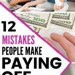Debt mistakes