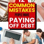 Ready for financial peace? Paying off debt is one of the biggest financial hurdles facing people. Are you making things harder? Don't fail victim to these common debt payoff mistakes. Figure out how to pay off debt quickly. Download our debt payoff worksheet. Make a debt repayment plan today with these tips. | Money Bliss
