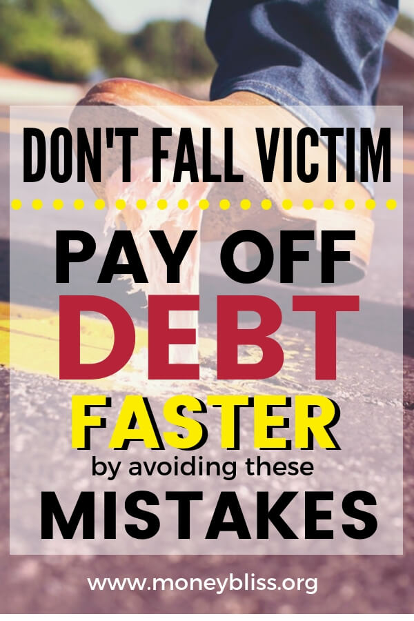 These common debt pay off mistakes will hold you back from paying off your debt fast. Even if you are following the Dave Ramsey method of a debt snowball. Pay off credit cards and students loans with this motivation.