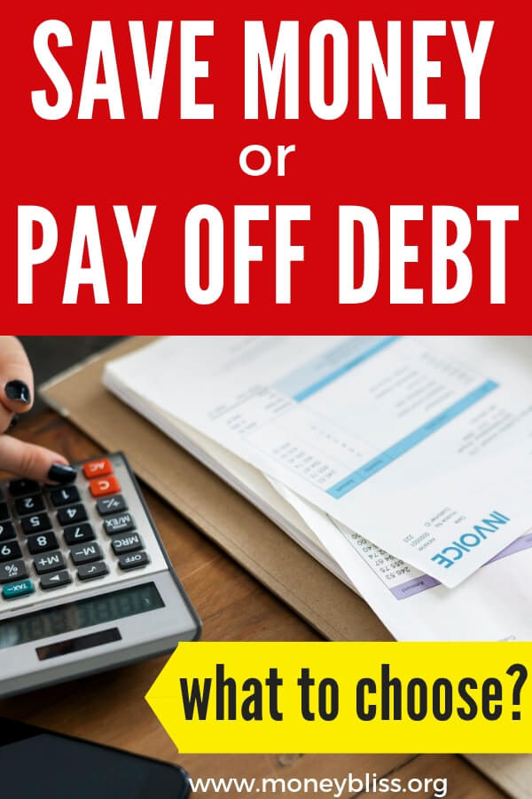 Pay off debt and save money? Is it possible to do both? Get tips on personal finance to start your emergency fund, save money, and get out of debt.