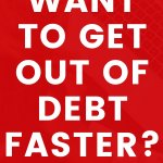 How to get out of debt fast. Get tips on personal finance. Budget, frugal living, and priorities is how to make it work