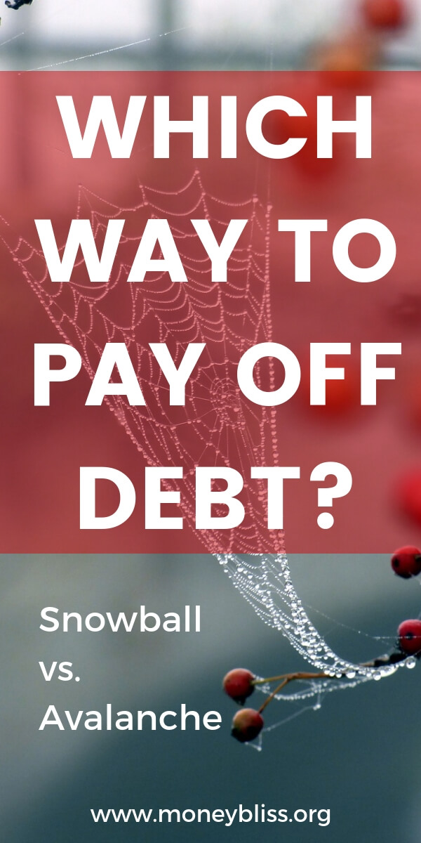 Is there a proper way to get out of debt? On one income or when you're broke. Pick a method to pay off debt - debt snowball or debt avalanche. Find financial peace fast. Get tips and motivation to pay off debt now. Plus free worksheets and printables.