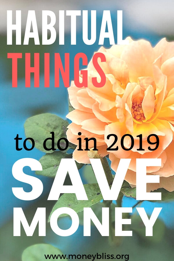 Learn what she does to save money monthly and stop living paycheck to paycheck. Get ahead with your personal finances. These tips will help you succeed with money management in 2019. #savemoney #moneybliss