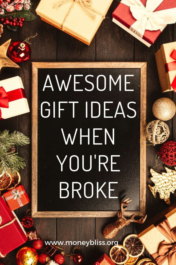 Christmas Birthday Image.Awesome Gift Ideas When You Re Broke Money Bliss
