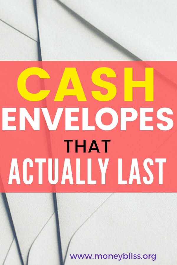 When using the cash envelope method, you need to find envelopes that will last. Here are cute durable cash envelopes that will last. Stop the DIY with a template.