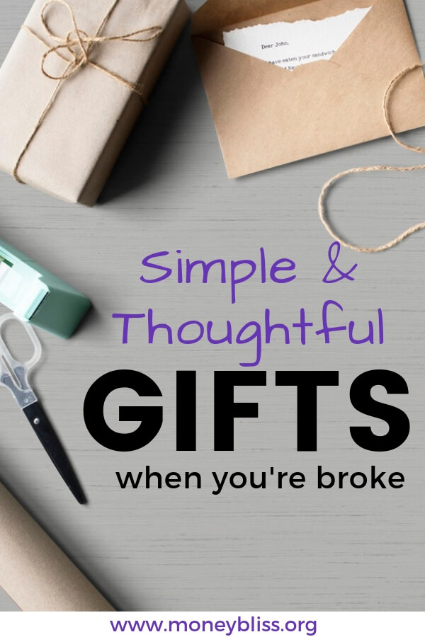 Searching for an unique, simple, and thoughtful gift? Get creative gift ideas for birthday, Christmas, or any holiday. All are inexpensive, DIY, free or cheap presents for that special someone.