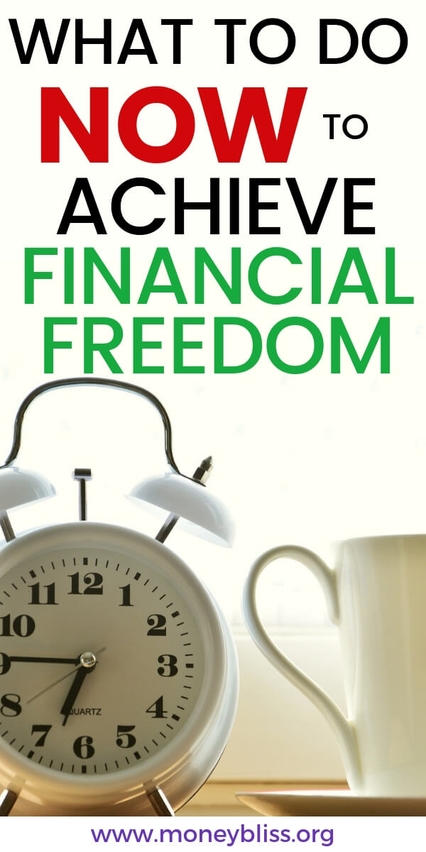 Get simple tips to achieve financial freedom now. Take control of your personal finances and budget to reach financial independence. These baby steps will track your progress to the life you want live. #life #financialfreedom #moneybliss