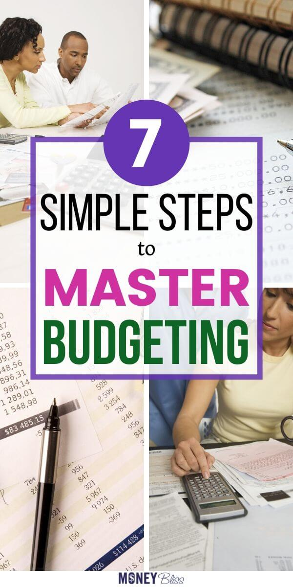 Step by step guide to create a simple budget. Find tips for personal budgeting. Free budget worksheet. Master your money basics now.