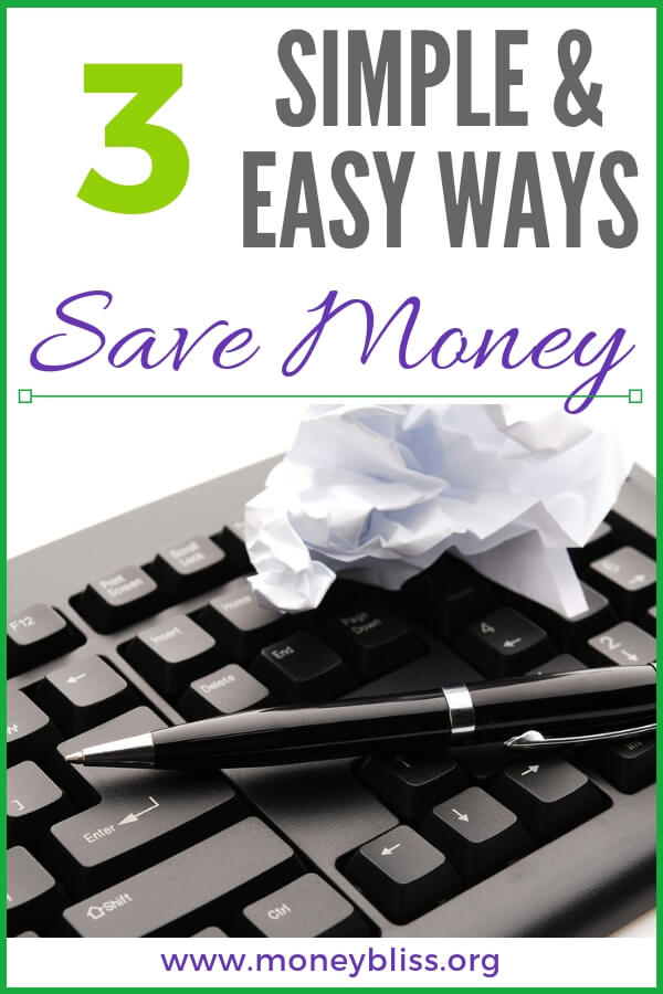 How to save money with simple, easy tips. Start a budget and get your personal finance on track. Learn how to save living paycheck to paycheck, weekly, or monthly. #savemoney #moneybliss