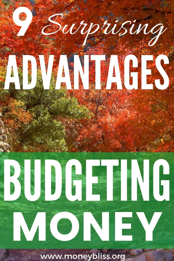 Budget for beginners - learn the advantages and benefits of budgeting your money. Your personal finances will thank you. Start saving money, pay off debt, and track your net worth. #budget #money #moneybliss