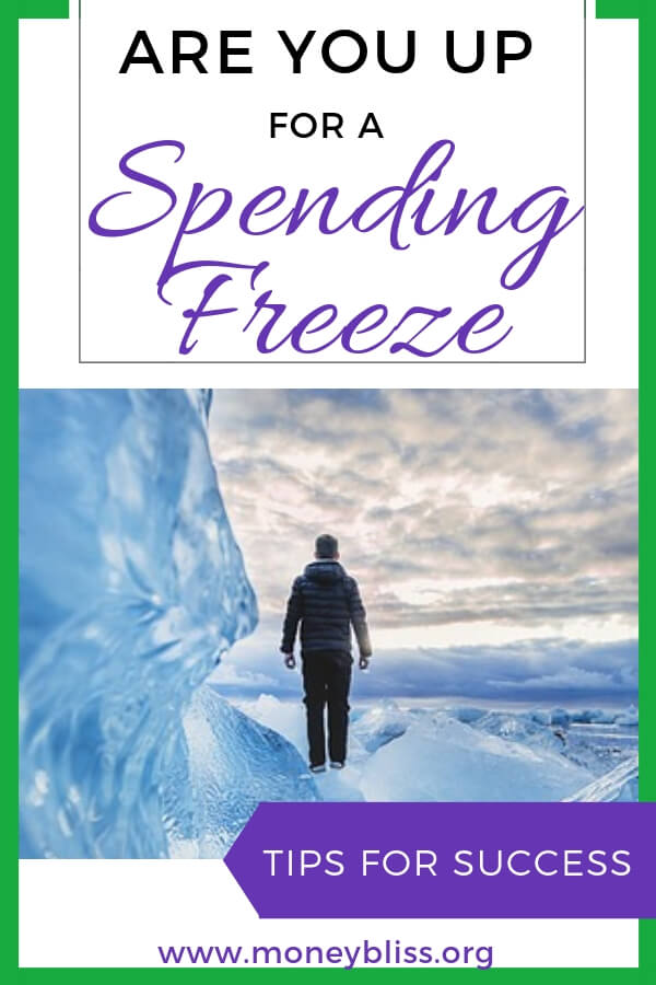 Spending freeze sounds lovely - a chance to save extra money. Think about the progress to pay off debt or save money! Understand the benefits and importance of a spending freeze. Find out the spending freeze rules and guidelines to succeed with money. Up for a spending freeze challenge? Get tips to succeed and find financial freedom. #money #finances #moneybliss