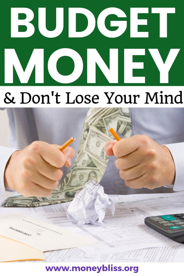 Learn how to budget money for those who hate budgeting. Understand why you need a budget to reach financial independence. Get tips and tricks on how to set up a budget. #budget #finances #moneybliss