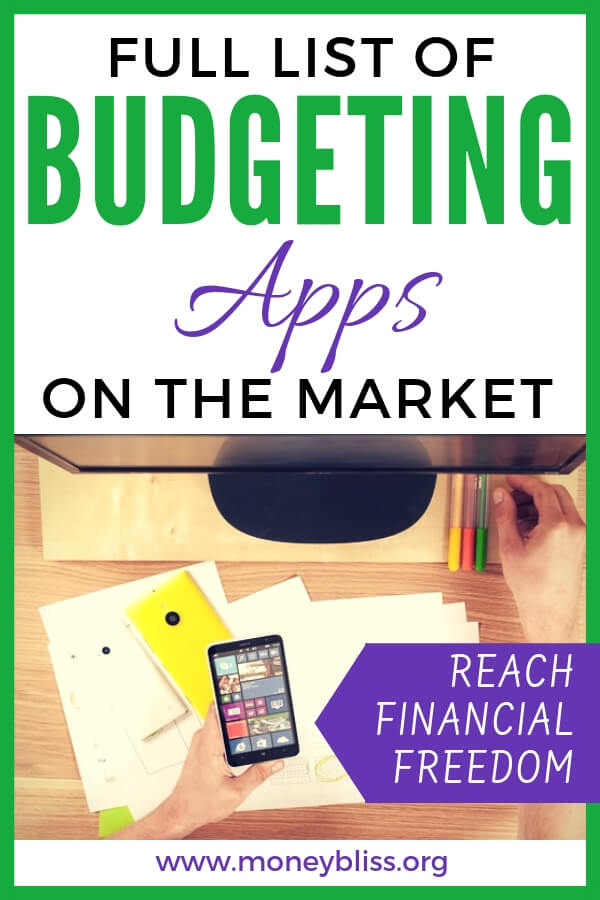 Full List of Budgeting Apps on the Market | Money Bliss