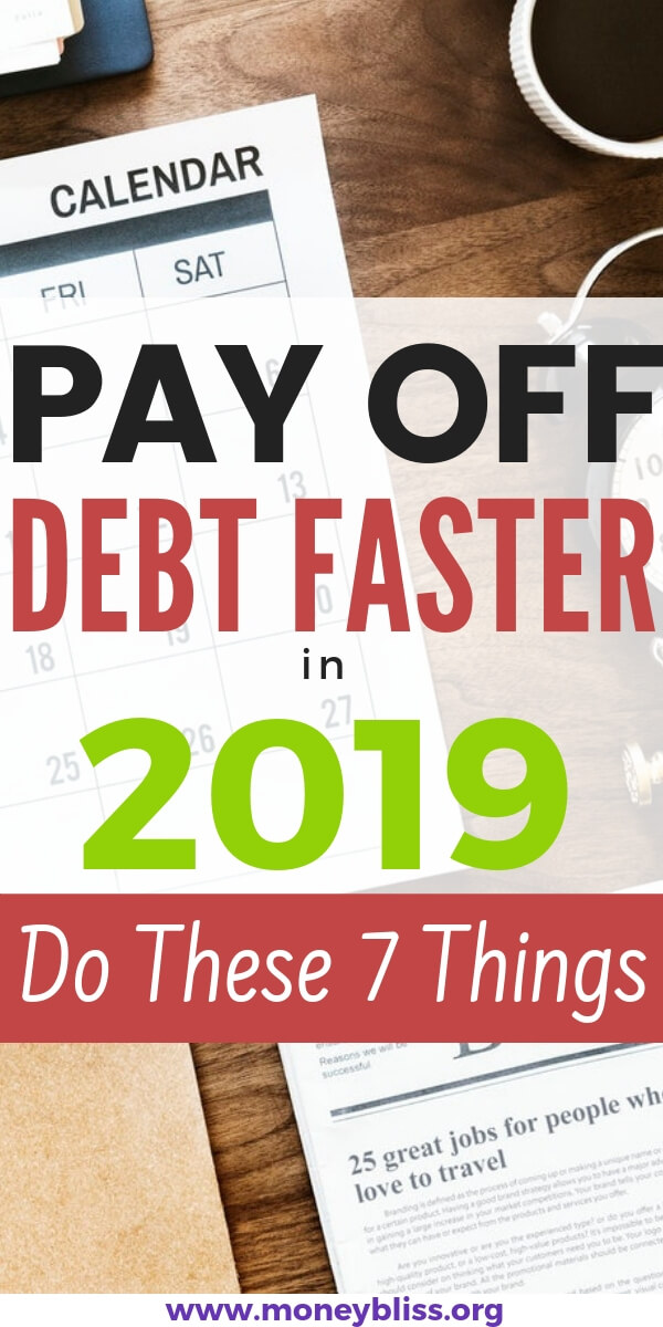 Ready to pay off debt faster in 2019? Find the simple tips to paying off debt quickly. You can still pay off your debt when you're broke or on one income.