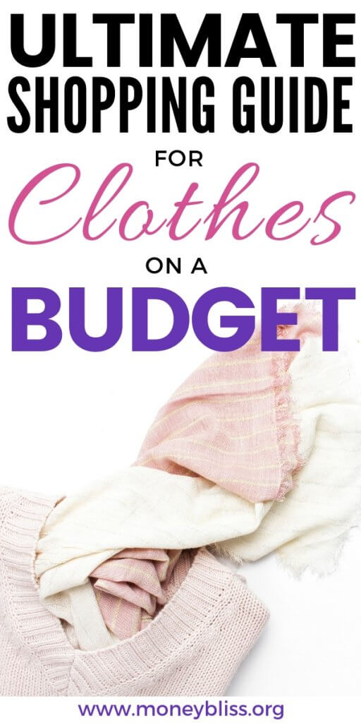 How to shop for clothes on a budget. Get ideas to still fit your style using online shopping and thrift stores. Find the perfect outfit while saving money.