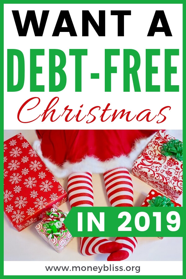 Get prepared for a debt free Christmas. Start saving today. Use the Christmas Budget worksheet as a guide. Learn to pay cash at Christmas. How much should I save for Christmas? Learn how to enjoy a debt-free Christmas. Save money with the Christmas Budget Challenge. #debtfree #christmas #moneybliss