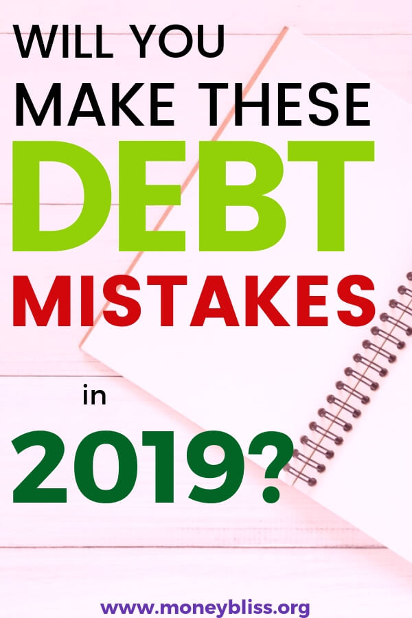 As you head into 2019 ready to pay off debt, are you guilty of one of the common debt pay off mistakes? Use these tips to pay off your debt faster and with motivation. These strategies will help you be successful with personal finance.